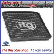 ITG Panel Air Filter For Subaru Legacy 2.5L 05> + 3.0L 08> - WB-412